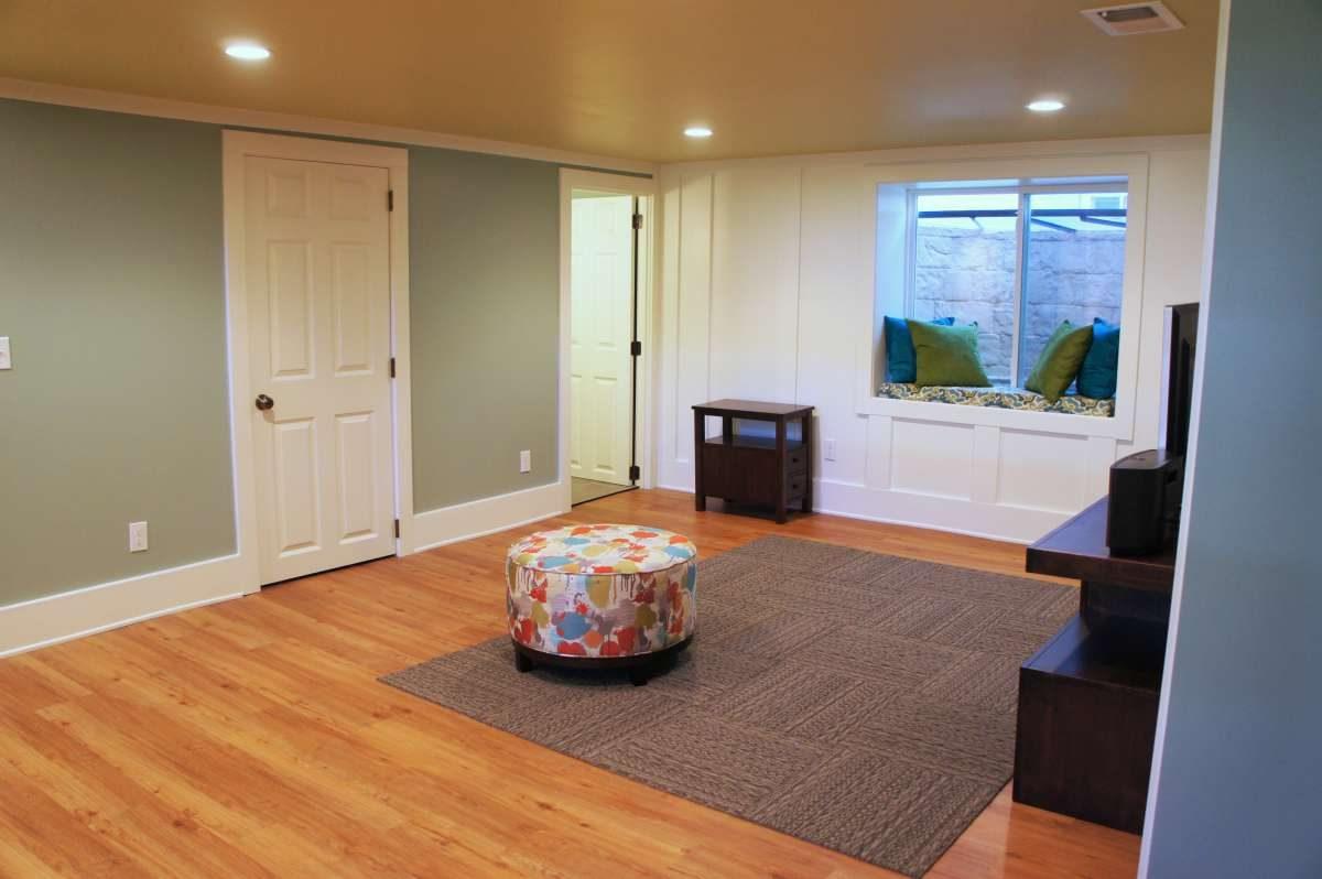 Half A House Gained In Basement Remodel Bluestem Minneapolis