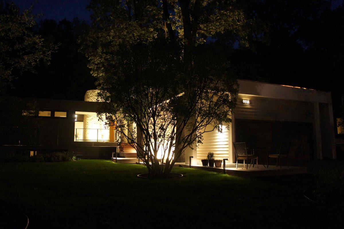 Modern Exterior Redesign night