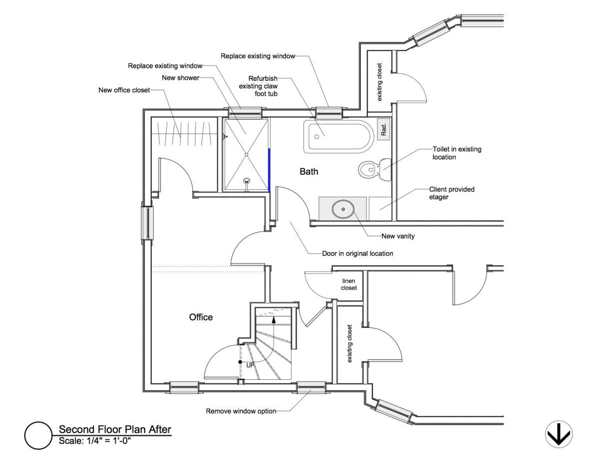 Victorian Modern Fusion Bluestem Construction Claw Schematic Before Afters