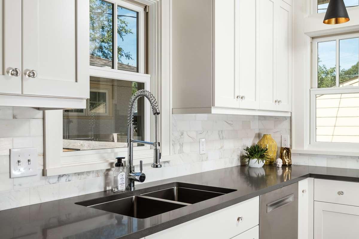 Tiny Kitchen Has It All - Bluestem Construction