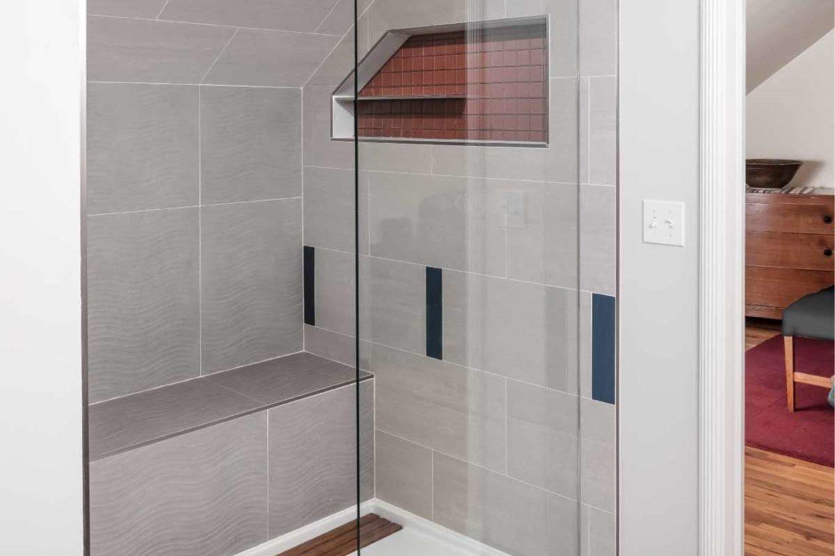 shower after remodel