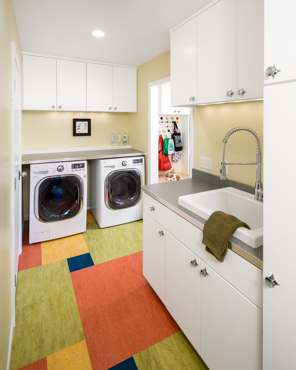 Featured On Houzz — Room of the Day: A Colorful Place to Whiten Whites and Brighten Brights