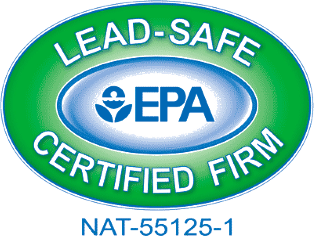 EPA Lead safe certified firm - logo image