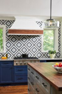 Bold Kitchen Backsplash Design
