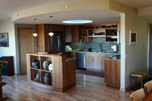Kitchen condo remodeling.